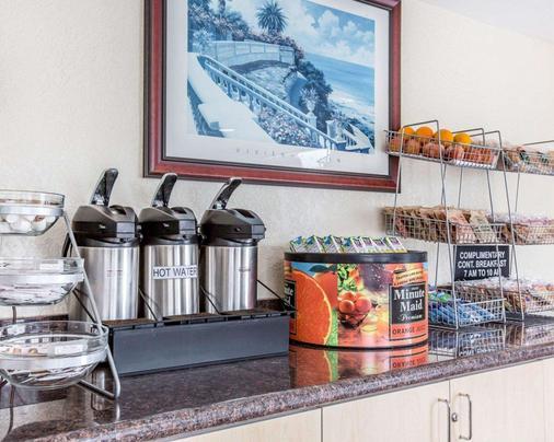 Rodeway Inn San Clemente Beach - San Clemente - Buffet