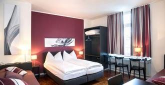 霍廷根酒店 - 蘇黎世 - 蘇黎世 - 臥室