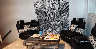 Hostal C.Q. Candelaria - Bogotá - Sala de estar