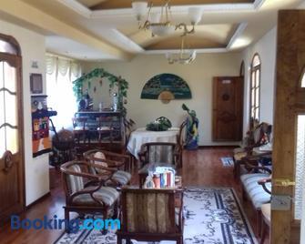 Chimborazo - Riobamba - Huiskamer