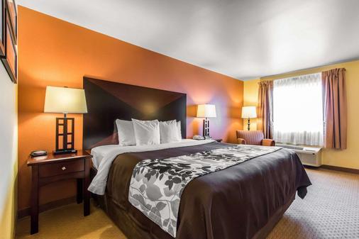 Sleep Inn and Suites Huntsville near US Space and Rocket Center - Huntsville - Makuuhuone