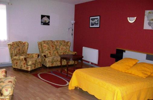 Hotel Au Logis Des Ours - Belfort - Κρεβατοκάμαρα