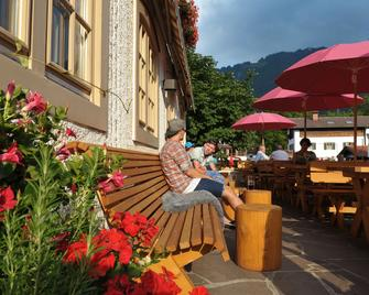 Alpenrose Bayrischzell Hotel & Restaurant - Байрішцель - Патіо