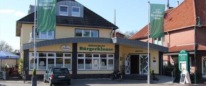 Hotel Bürgerklause - Garrel - Gebäude