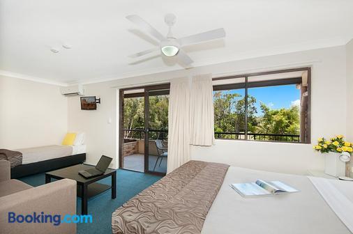 Byron Bayside Central Studio Apartments - Byron Bay - Bedroom