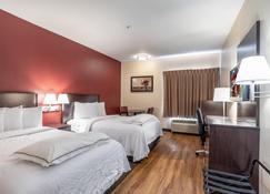 Red Roof Inn Plus+ San Antonio Downtown - Riverwalk - San Antonio - Schlafzimmer