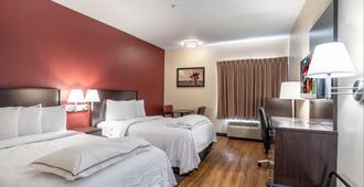Red Roof Inn Plus+ San Antonio Downtown - Riverwalk - San Antonio - Camera da letto
