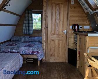 Loch Shin Luxury Pods - Lairg - Bedroom