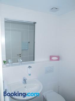 Hotel Am Hechenberg - Mainz - Bathroom