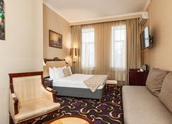 Lime Hotel - Moskau - Schlafzimmer