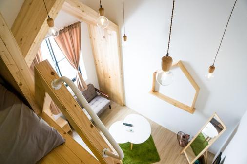 Loft.Wo Design Inn - Tainan - Bad