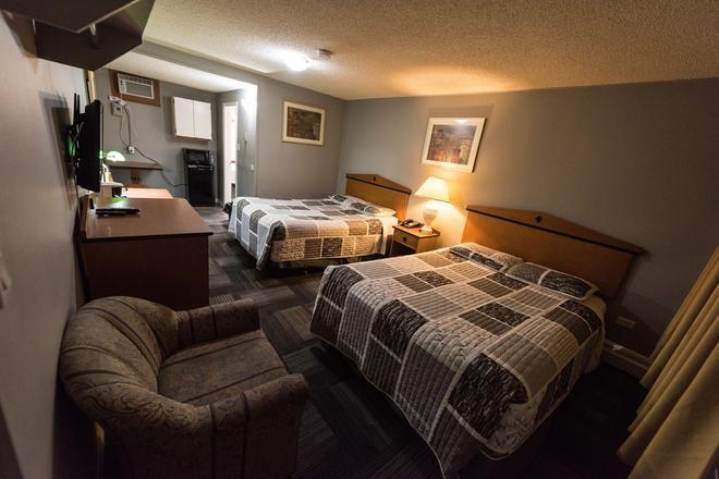Olympia Lodge - Calgary - Makuuhuone