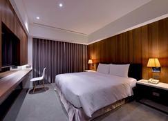 Wo Hotel - Kaohsiung City - Bedroom