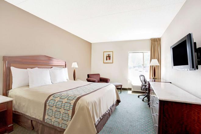 市中心蠔點戴斯酒店 - 紐波特紐斯 - 紐波特紐斯 - 臥室