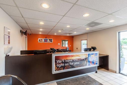 休斯敦 NASA 6 號汽車旅館 - 韋伯斯特 - 韋伯斯特 - 櫃檯