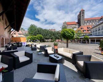 Best Western Hotel Schlossmühle - Quedlinburg - Patio