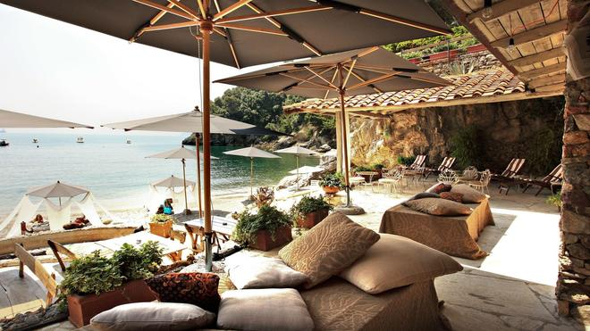 Eco Del Mare Night And Day Beach Club - Lerici - Patio