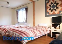 Pension & Cafe Cruise - Shika - Bedroom