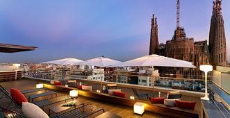 羅塞利翁艾爾飯店 - 巴塞隆納 - 陽台