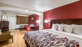 休士頓東紅屋頂酒店 - 休士頓 - 休士頓 - 臥室