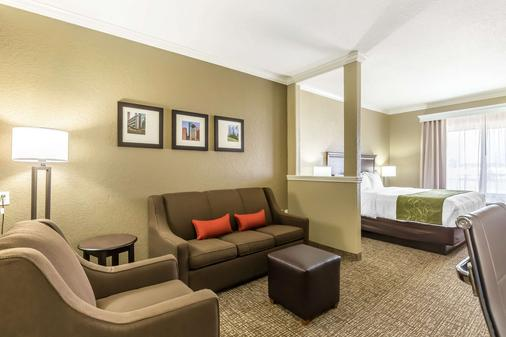 Comfort Suites Houston IAH Airport - Beltway 8 - Houston - Phòng ngủ