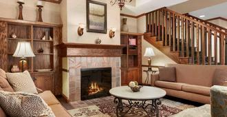 Country Inn & Suites by Radisson, Asheville West - Asheville - Living room