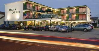 Grecian Gardens Motel - North Wildwood - Building