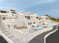 Dome Resort Santorini - เธียร่า - อาคาร