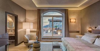 Hotel Punta Tragara - קאפרי - חדר שינה