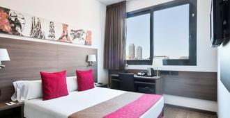Hotel 4 Barcelona - Barcelona - Bedroom