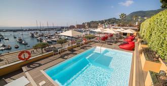 勞林酒店 - 聖塔馬爾吉利塔利古瑞 - 聖瑪格麗塔-利古雷 - 游泳池