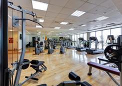 Abidos Hotel Apartment Al Barsha - Dubai - Gym