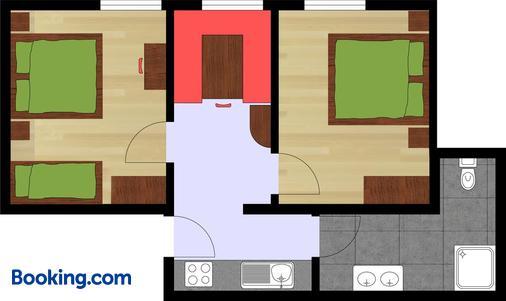 Hotel Garni Chasa Sulai - Ischgl - Floorplan