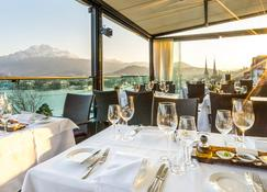 Art Deco Hotel Montana - Lucerne - Restoran