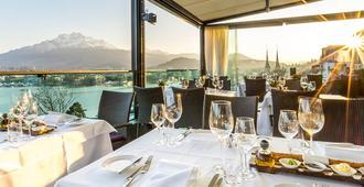 Art Deco Hotel Montana - Lucerne - Restaurant