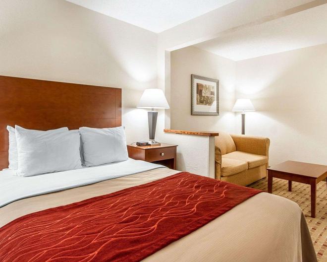 Quality Inn and Suites Eau Claire - Eau Claire - Makuuhuone