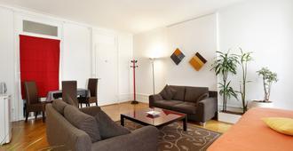 Torhôtel Genève - Geneva - Living room