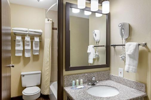 Quality Inn Downtown - Salt Lake City - Bathroom