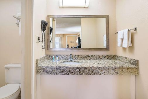 Rodeway Inn Metro Airport - Romulus - Bathroom