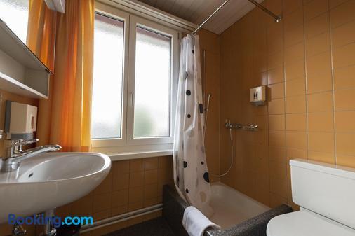 Gasthof Pizzeria Weingarten - Zurich - Bathroom