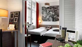 阿達吉奧斯塔伯格廣場克雷貝城市公寓酒店 - 史特拉斯堡 - 斯特拉斯堡 - 臥室