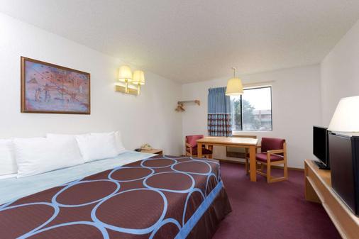 Super 8 by Wyndham Cortez/Mesa Verde Area - Cortez - Bedroom