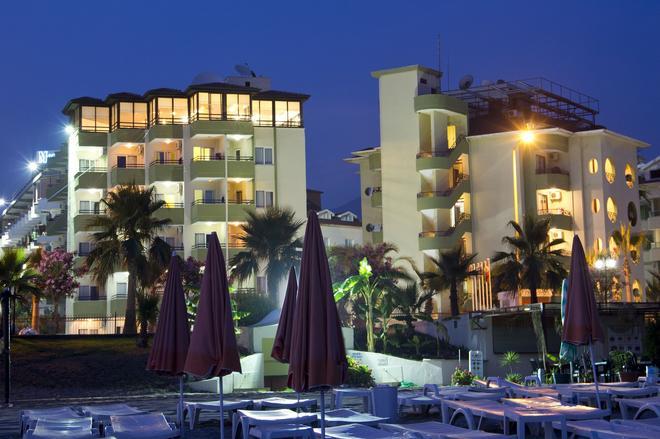 Krizantem Hotel - Alanya - Rakennus