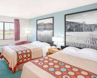 Super 8 by Wyndham Gas City Marion Area - Gas City - Schlafzimmer