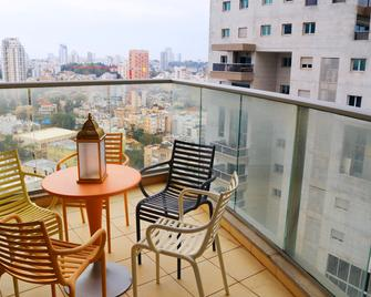 Luxury With Stunning View And Parking - Ramat Gan - Balkon