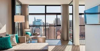 悉尼輝盛閣國際公寓 - 雪梨 - 客廳