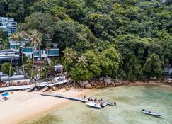 Alunan Resort - Pulau Perhentian Besar - Spiaggia