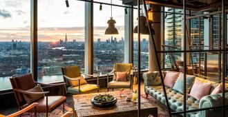 諾富特倫敦金絲雀碼頭酒店 (即將開業) - 倫敦 - 倫敦 - 休閒室