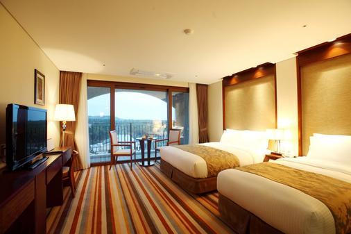 Raon Hotel & Resort - Jeju City - Κρεβατοκάμαρα