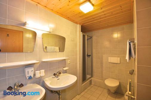Garni Mathonerhof - Ischgl - Bathroom